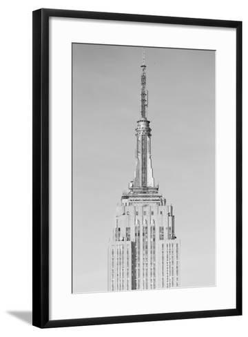 Empire State Building New York NY--Framed Art Print
