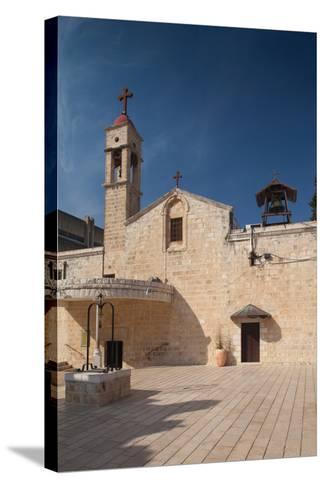 Saint Gabriels Greek Orthodox Church, Nazareth, The Galilee, Israel--Stretched Canvas Print