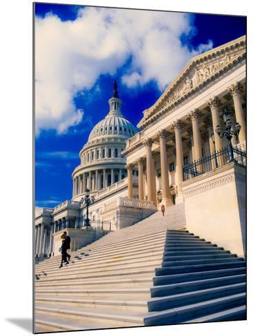 Steps to Senate Chambers at US Capitol Building, Washington DC, USA--Mounted Photographic Print
