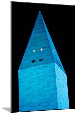 Washington Monument at night, Washington DC, USA--Mounted Photographic Print