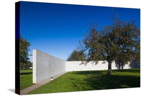Conference Pavilion design by Tadao Ando, Vitra Design Museum, Weil am Rhein, Baden-Wurttemberg...--Stretched Canvas Print