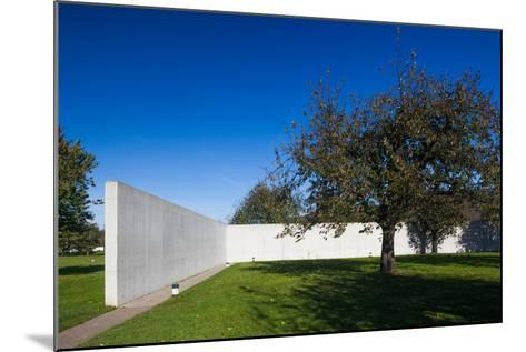 Conference Pavilion design by Tadao Ando, Vitra Design Museum, Weil am Rhein, Baden-Wurttemberg...--Mounted Photographic Print