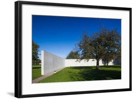 Conference Pavilion design by Tadao Ando, Vitra Design Museum, Weil am Rhein, Baden-Wurttemberg...--Framed Art Print