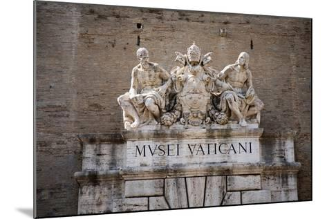 The Vatican Museums, Musei Vaticani, are the public art and sculpture museums in the Vatican Cit...--Mounted Photographic Print