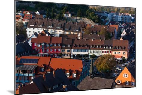 Elevated view of town, Breisach, Black Forest, Baden-Wurttemberg, Germany--Mounted Photographic Print