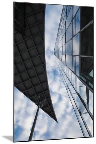 Low angle view of the Deutsche Post Tower, Bonn, North Rhine-Westphalia, Germany--Mounted Photographic Print