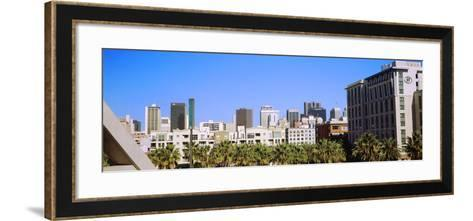 High angle view of skyscrapers in a city, San Diego, California, USA--Framed Art Print