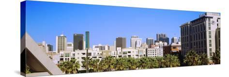 High angle view of skyscrapers in a city, San Diego, California, USA--Stretched Canvas Print