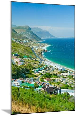 Elevated scenic views on the way to Cape Point, Cape of Good Hope, outside of Cape Town, South A...--Mounted Photographic Print
