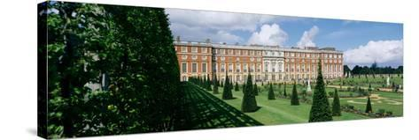 Facade of a palace, Hampton Court Palace, London, England--Stretched Canvas Print