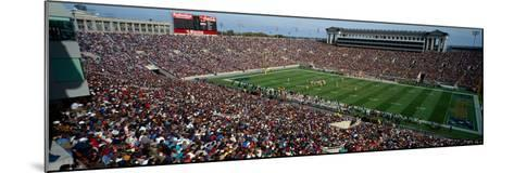High angle view of a football stadium, Soldier Field, Chicago, Illinois, USA--Mounted Photographic Print