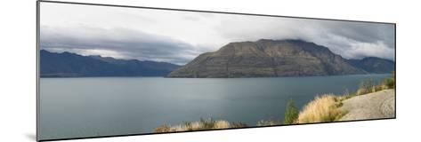 Clouds over Cecil Peak seen from Glenorchy-Queenstown Road, Lake Wakatipu, Otago Region, South I...--Mounted Photographic Print