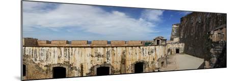 Ruins of Castillo San Felipe Del Morro, Old San Juan, San Juan, Puerto Rico, USA--Mounted Photographic Print