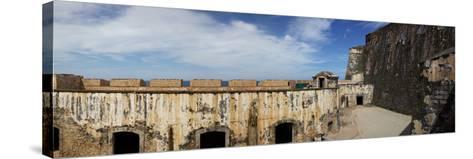 Ruins of Castillo San Felipe Del Morro, Old San Juan, San Juan, Puerto Rico, USA--Stretched Canvas Print