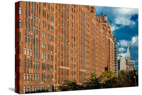 Brick Apartment Buildings New York City--Stretched Canvas Print