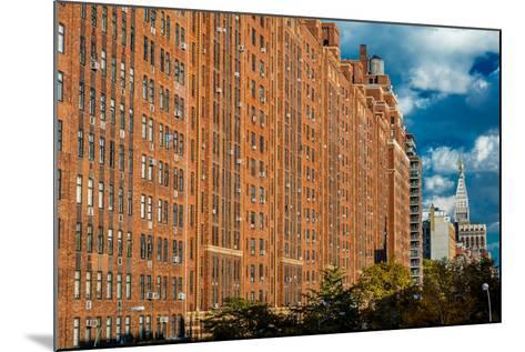Brick Apartment Buildings New York City--Mounted Photographic Print