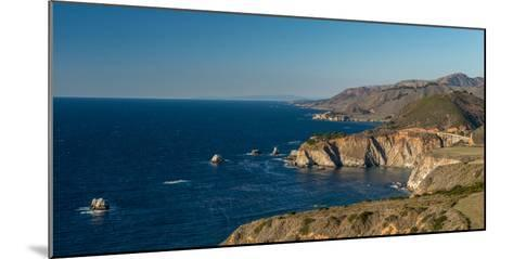Scenic view of Bixby Creek Bridge at Pacific Coast, Big Sur, California, USA--Mounted Photographic Print