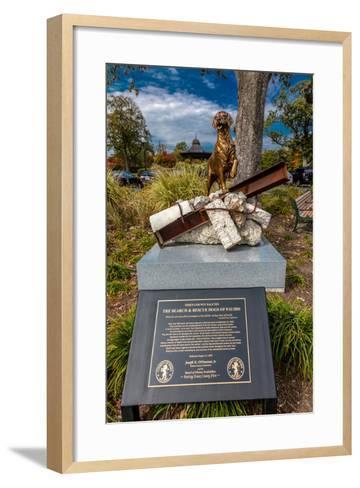 9/11 Memorial Eagle Rock Reservation in West Orange, New Jersey--Framed Art Print