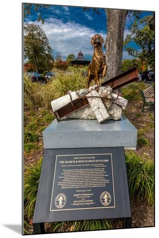 9/11 Memorial Eagle Rock Reservation in West Orange, New Jersey--Mounted Photographic Print