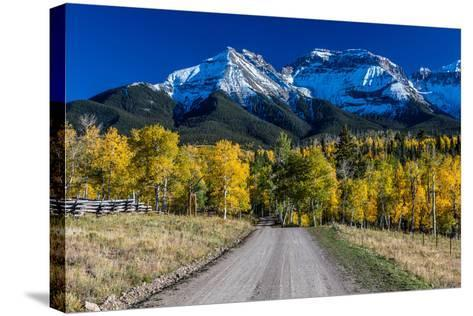 Mountains, Colorado--Stretched Canvas Print