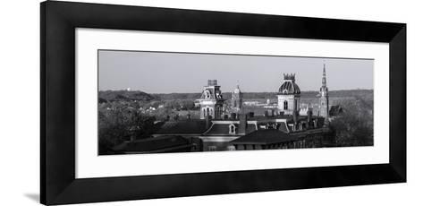 Buildings in Dubuque, Dubuque County, Iowa, USA--Framed Art Print