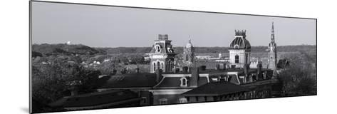 Buildings in Dubuque, Dubuque County, Iowa, USA--Mounted Photographic Print