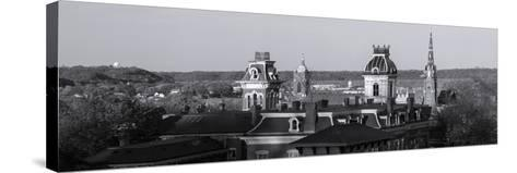 Buildings in Dubuque, Dubuque County, Iowa, USA--Stretched Canvas Print