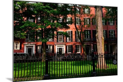 Historic homes of Beacon Hill, Boston, MA--Mounted Photographic Print