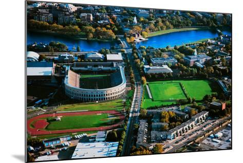 Aerial View of Soldiers Field, home of Harvard Crimson, Harvard, Cambridge, Boston, MA--Mounted Photographic Print