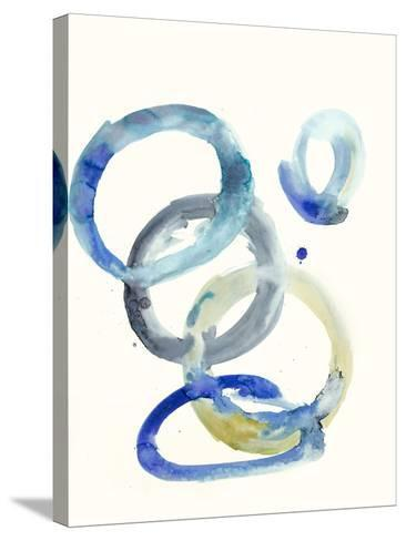 Watercolor Oval 4-Natasha Marie-Stretched Canvas Print