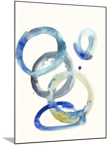 Watercolor Oval 4-Natasha Marie-Mounted Premium Giclee Print
