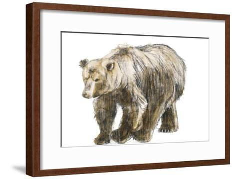 Brown Bear 1-Brenna Harvey-Framed Art Print