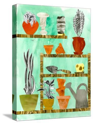 Potting Shed 2-Brenna Harvey-Stretched Canvas Print