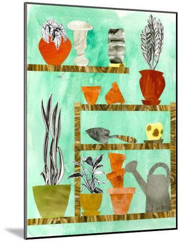 Potting Shed 2-Brenna Harvey-Mounted Premium Giclee Print