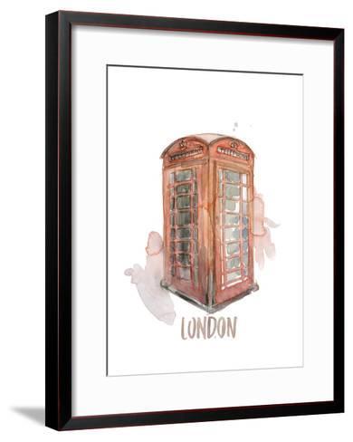 London Booth-Brenna Harvey-Framed Art Print