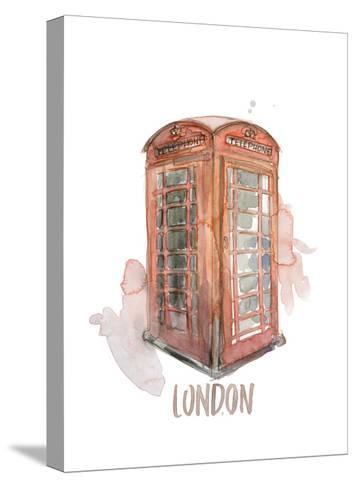 London Booth-Brenna Harvey-Stretched Canvas Print