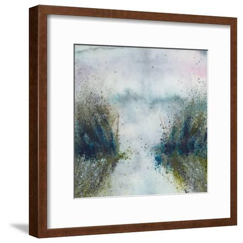 Paddling Through-Mary Farmer-Framed Art Print