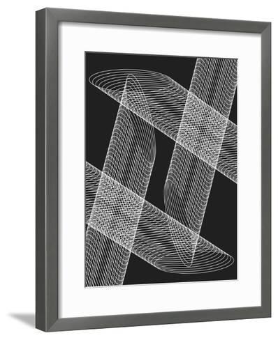 Linear Motion 4-THE Studio-Framed Art Print
