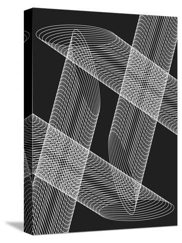 Linear Motion 4-THE Studio-Stretched Canvas Print