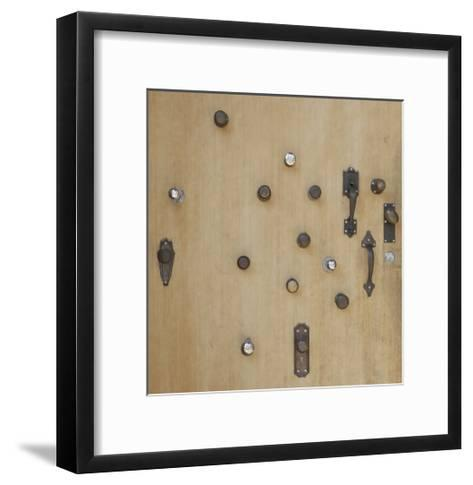 Portland Door-Mimi Payne-Framed Art Print