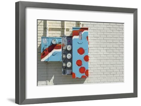 Alberta Meter Boxes-Mimi Payne-Framed Art Print