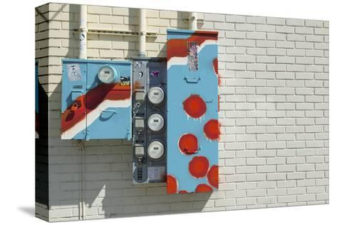 Alberta Meter Boxes-Mimi Payne-Stretched Canvas Print