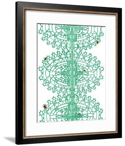Bugs in Lace-Jorey Hurley-Framed Art Print