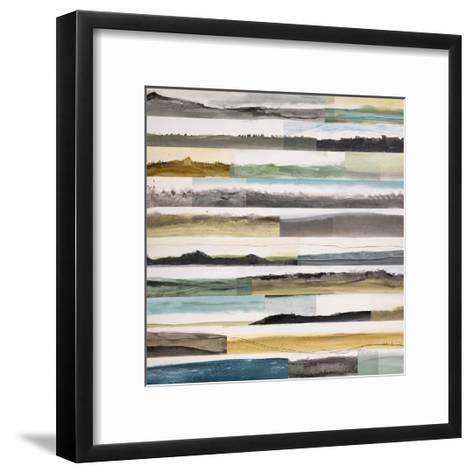 Neutral Plains 5-Kyle Goderwis-Framed Art Print