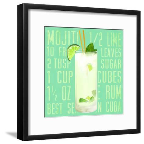 Mojito (Square)-Cory Steffen-Framed Art Print