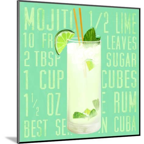 Mojito (Square)-Cory Steffen-Mounted Premium Giclee Print