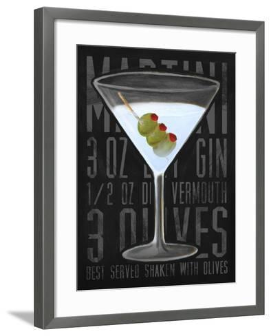 Martini (Vertical)-Cory Steffen-Framed Art Print