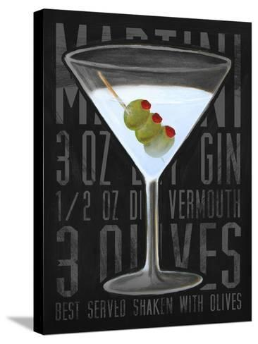 Martini (Vertical)-Cory Steffen-Stretched Canvas Print