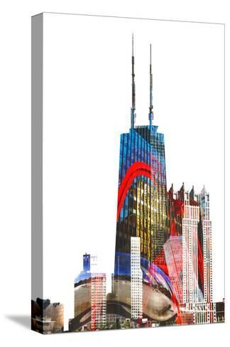 Willis Tower-THE Studio-Stretched Canvas Print