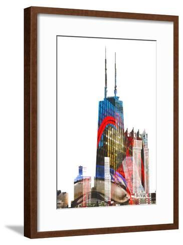 Willis Tower-THE Studio-Framed Art Print